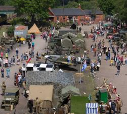 1940s Wartime weekend at Quorn & Woodhouse station