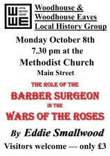 The Barber Surgeon in the Wars of the Roses