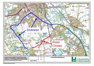 Road closure - Forest Road for resurfacing