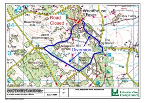 Maplewell Road closure