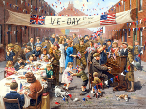 VE Day 75 at home on 8th May 2020
