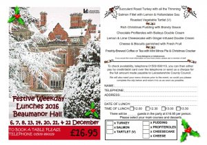 Image result for Beaumanor hall christmas