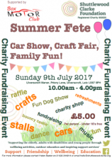 Summer Fete at Ulverscroft Manor