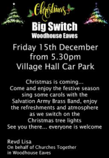 Big Switch On - Woodhouse Eaves